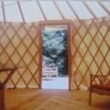 Yurt inside